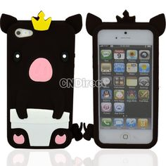 Soft Silicone Gel Case Protector Cover For iPhone5 #CNdirect