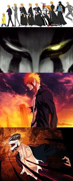 Ichigo's Evolution