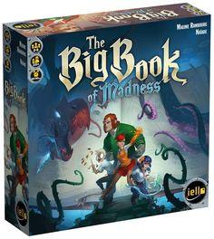 The Big Book of Madness, le nouveau gros jeu de IELLO vous sera présenté peu après sa sortie. Incarnez des apprentis magiciens en quête d'aventure qui, par imprudence, ont ouvert un ancien grimoire... Ensemble, tournez les pages de cet ouvrage maléfique...