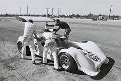 Hall's Chaparral 2G at the 1968 Riverside Can-Am. Dave Friedman photo.