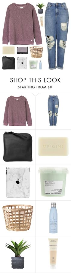 """""""[TOP SET] BUT YOU'RE HUMAN TONIGHT"""" by nxstalgia ❤ liked on Polyvore featuring RVCA, Topshop, Xenab Lone, Origins, Davines, Drybar, NARS Cosmetics, Laura Ashley and Aveda"""