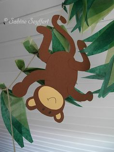 Affe 9 Affe 9 Related posts: Affe 6 Mehr Niedlicher kleiner Affe Affe 4 Vektor: Niedliche Cartoon-Dschungel-Safaritiere. Deco Jungle, Jungle Party, Safari Party, Safari Theme, Jungle Jungle, Outside Bridal Showers, Jungle Crafts, Jungle Theme Classroom, Jungle Decorations