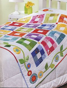 Additional Images of Baby Bright Quilts by various authors - ConnectingThreads.com