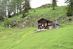 Buy Maiensäss in Valais Selling Real Estate, Architects, Cabin, House Styles, Restore, Remodels, Agricultural Buildings, Romantic Vacations, Small Purses