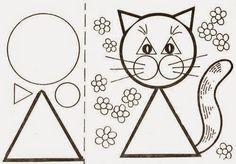 Aktivity pro vzdělávání v raném dětství: pracovní geometrické tvary zábavnou formou, jezdecké zvířata! - SPACE EDUCATE