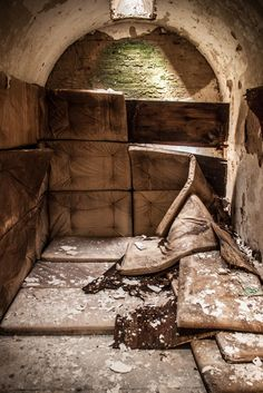 Lost | Forgotten | Abandoned | Displaced | Decayed | Neglected | Discarded | Disrepair |  Padded Cell