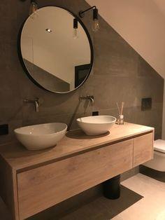 30 Modern Bathroom Design Ideas For Your Private Heaven Pallet Bathroom, Wooden Bathroom, Bathroom Furniture, Bathroom Wall, Bathroom Storage, Small Bathroom, Bathroom Ideas, Bathtub Ideas, Bathroom Black