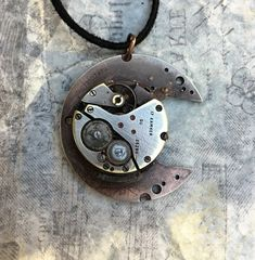 SALE Men's Sexy Steampunk Necklace Rustic by RetroHippieUnlimited