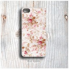 iPhone 5 Case Floral iPhone 5s Case Pink Rose by HelloDelicious, $19.00