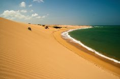 Faro Punta Gallinas, Uribia, Colombia — by The Adventure Junkies. The sand dunes of Taroa, near Punta Gallinas are impressive dunes of golden sand. For more pictures:...