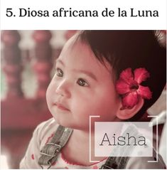 Names Of Baby Girl, Name List, African