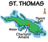 """St. Thomas Map  - a very cool """"what to do"""" type page - check it out"""