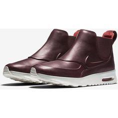 Nike Air Max Thea Mid Women's Shoe. Nike.com ($140) via Polyvore featuring shoes, nike footwear, nike shoes and nike