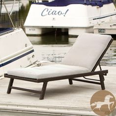 Christopher Knight Home Waveland Chaise Lounge with Cushion | Overstock.com
