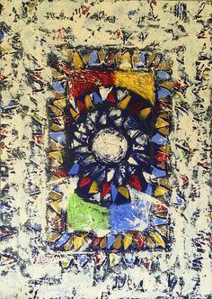 Título: Uno  Autor: Alvaro Galindo Vácha  Dimensiones: 50 x 70 cm  Técnica: Acrílico sobre tela  Año: 2010  Firmado: Frente y Revés
