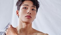 """Gearing up for his new drama """"Circle"""" on tvN coming in late May, Yeo Jin Goo did a photo spread and interview for the May edition of Elle. Asian Actors, Korean Actors, Dramas, Cute Korean Boys, Asian Boys, Jin Goo, Park Hyung Sik, Boy Models, All Grown Up"""