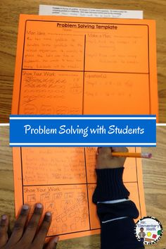 Math Problem Solving 101 -Looking for a strategy to help students solve math word problems?  Learn a new way to look at and solve word problems.