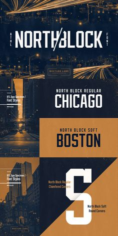 North Block is a true sport branding classic. Its timeless shapes and features w… North Block is a true sport Sports Brand Logos, Sports Fonts, Sports Logo, Sports Brands, Typographic Design, Typography, Logo Branding, Branding Design, Corporate Branding