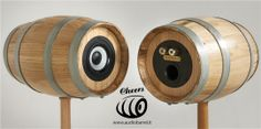 Cheers 3'' Raw Rear - Botte Marsalese di Castagno 3L - 50W 8Ω Cheers è l'innovativo diffusore acustico ad alta fedeltà brevettato © Exend.it #AudioBotti, #AudioBarrel, #BottiAcustiche, #WineSpeakers #HiFi