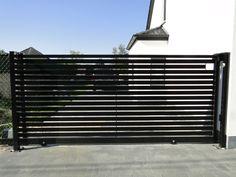 GKLafsluitingen.be metalen schuifpoort op rail