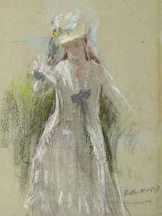 View Femme en gris debout by Berthe Morisot on artnet. Browse upcoming and past auction lots by Berthe Morisot. Pierre Auguste Renoir, Edouard Manet, Claude Monet, Camille Pissarro, Edgar Degas, Paul Cezanne, National Gallery Of Art, Art Gallery, Julie Manet