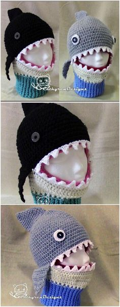 These Crochet Fish Hats Patterns are so much fun to wear, and we have rounded up all the most popular versions that you are going to love. Be sure to watch the video tutorial too.
