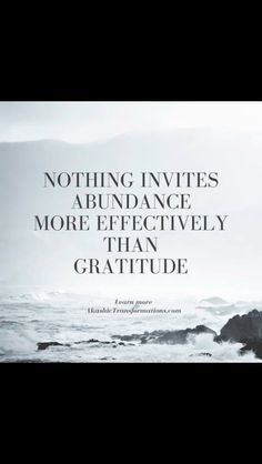 gratitude and abundance quotes