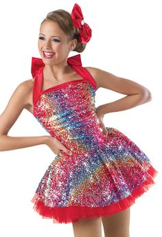 """Dance Costume, for a routine to """"candy man"""""""