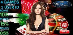 Agen Judi Poker : 99onlinepoker adalah Agen Judi Poker Online Indonesia yang Terbaik & Terpercaya Seasia, dengan Pelayanan Customer Service  24 Jam dalam sehari  http://99onlinepoker.net/agen-judi-poker-online-terpercaya-seasia/
