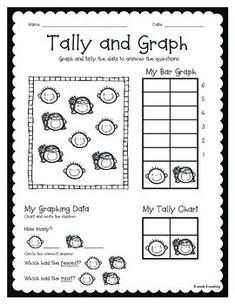 Math Worksheets, Grade-2 Worksheets, Pictograph Worksheets
