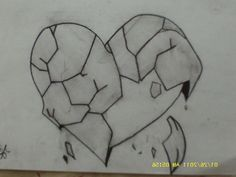 Tag: broken heart drawings in pencil - Drawing And Sketches