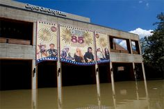 Opry House during the flood.