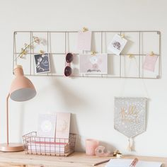 Rose Gold Bedroom Decor to Re-inspire Your Personal Space Gold Bedroom Decor, Bedroom Furniture, Rose Gold Decor, Desk Inspiration, Cute Room Decor, Home Office Organization, Shop Organization, Luxurious Bedrooms, Luxury Bedrooms