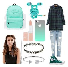 """School"" by adine233 on Polyvore featuring Converse, Casetify, Rimmel, Bling Jewelry, Vans and REGALROSE"