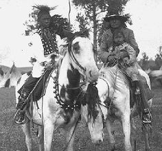 Paint horses to begin with were scared. Those with the medicine were said to protect the person (usually the chief or medicine man) who rode them. They had a medicine hat across their ears and a shield down their neck and breast