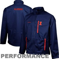 Columbia Illinois Fighting Illini Jacket