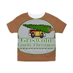 Griswolds Toddler All Over Print Tee and more  #Griswolds Family #Christmas see all my Clark Griswold designs in my profile, search Griswold Click here --  http://www.cafepress.com/dd/92207759