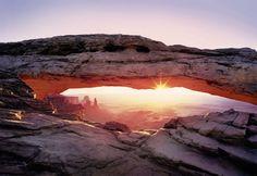 Komar Arch Canyon Fotobehang National Geographic 8-521