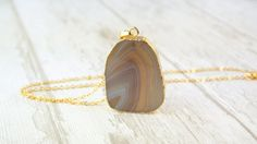 Free Shipping / Natural Agate Nacklace / Natural Geode Stone / Mineral Jewellery / Gift