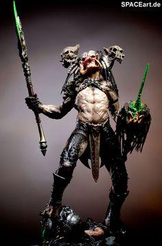 Predator: Bad Blood - Deluxe Statue ... spaceart.de/produkte/pr026.php