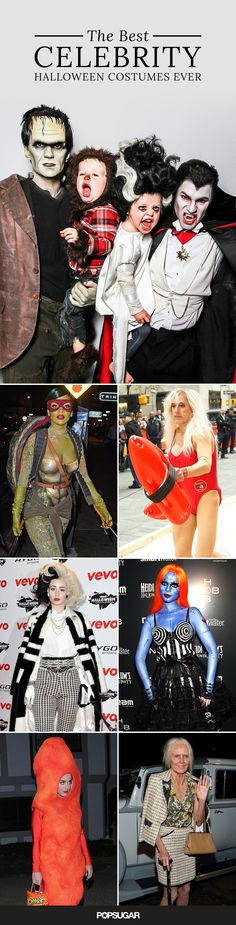 The 36 Best Celebrity Halloween Costumes, Ever