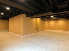 Overmyer is a finished basement contractor in Novi, Michigan. In this video we discuss different open-joist ceiling finish options for a finished basement. Novi Michigan, Ceiling Finishes, Shading Drawing, Pencil Shading, Open Ceiling, Basement Bathroom, Sweet Home, New Homes