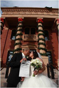 Texas Courthouse Wedding