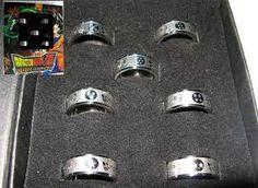 Dragon Ball Z rings.
