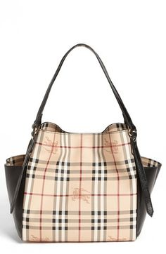 Burberry  Haymarket Canterbury - Small  Tote available at  Nordstrom  Burberry Outlet Online, aa60b9021d