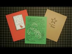 Easy To Mass Produce Christmas Cards Diy Christmas Cards, Xmas Cards, Diy Cards, Christmas Holidays, One Sheet Wonder, Card Making Techniques, Less Is More, Hero Arts, Craft Work