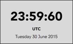 #SabiaDessa? Dia de hoje terá um segundo a mais – veja por que ↪ Por @jpcppinheiro. Último minuto de junho terá 61 segundos. Por mais estranho que pareça, a medida tem motivação científica e já é adotada desde 1972. Veja só! http://www.curiosocia.com/2015/06/dia-de-hoje-tera-um-segundo-mais-veja.html