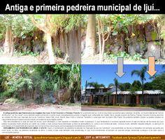 IJUÍ - RS - Memória Virtual: Antiga e primeira pedreira municipal de Ijuí - Col...