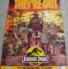 """Résultat de recherche d'images pour """"jurassic park 1993 posters"""""""