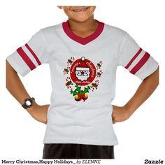 Your Custom Kids' Augusta Retro Striped Sleeve V-Neck T-Shirt   #ChristmasShirts #Christmas #KidsFashion #ChildrenFashion #ChildrenTshirts #T-Shirts  #Tshirts #Men #Women #Children #Apparel #Clothing #Zazzle